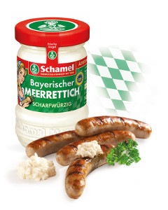 2- Schamel Bayerischer Meerrettich Scharfwürzig 145g