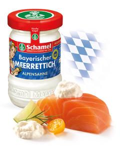 Schamel Bayerischer Meerrettich Alpensahne 135g