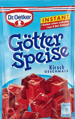 Dr Oetker Götter Speise Kirsch Instant 100g