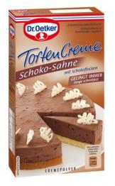 Dr. Oetker Tortencreme Schoko-Sahne mit Schokoflocken 170g