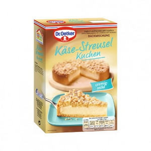 Dr.Oetker Backmischung Käse-Streusel Kuchen 730g