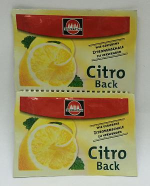 Schwartau Citro Back (2x5g)