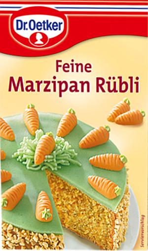 Dr.Oetker Marzipan Rübli 42g für 12 Stück
