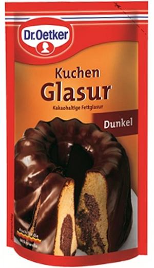 Dr Oetker Kuchen Glasur Dunkel (125g)