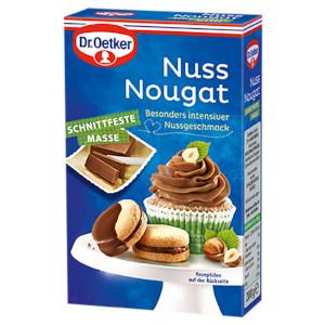 Dr Oetker Nuss Nougat Schnittfeste Masse 200g