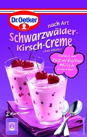 Dr Oetker nach Art Schwarzwälder-Kirsch-Creme (59g.)