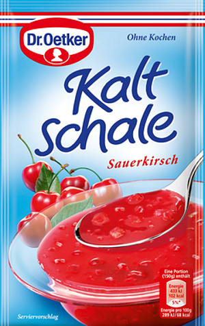 Dr Oetker Kaltschale Sauerkirsch