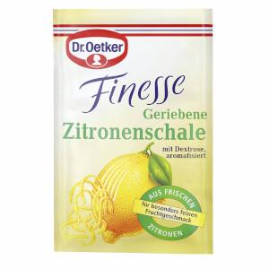 Dr.Oetker Finesse Geriebene Zitronenschale  3er x 6g