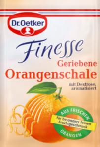 Dr.Oetker Finesse Geriebene Orangenschalen Aroma 3er x 6g