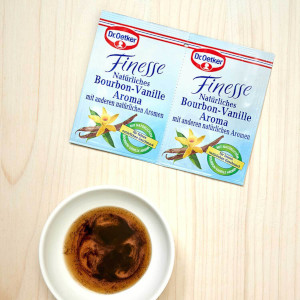 Dr.Oetker Finesse Natürliches Bourbon-Vanille Aroma 2 x 5g