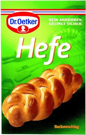 4- Dr.Oetker Hefe Trockenbackhefe 4er x 7g