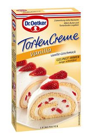 Dr Oetker Tortencreme Vanilla
