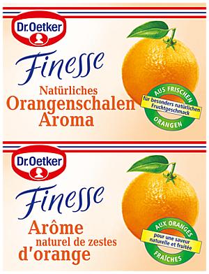 2- Dr.Oetker Finesse Orangenschalen Aroma 2 x 6g