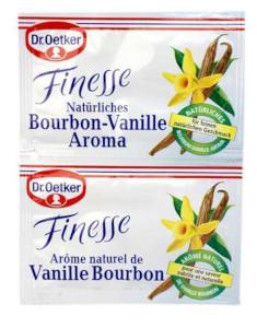 2- Dr.Oetker Finesse Natürliches Bourbon-Vanille Aroma 2 x 5g