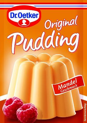 Dr Oetker Original Pudding Mandel 3 sachets