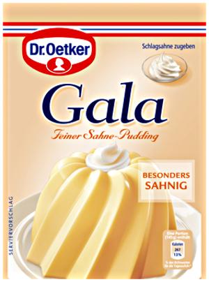 6- Dr.Oetker Gala Feiner Sahne Pudding 3er x 40g