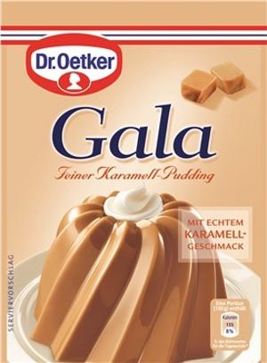 7- Dr.Oetker Gala Karamell Pudding 3er x 41g