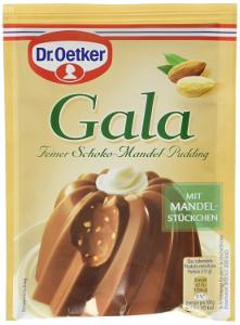 Dr. Oetker Gala Feiner Schoko-Mandel-Pudding 2 x 55g
