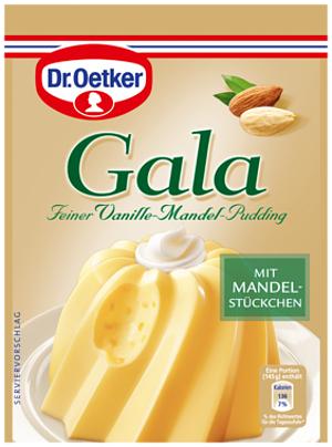 8- Dr.Oetker Gala Vanille-Mandel-Pudding 2er x 40g