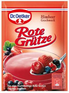 Dr.Oetker Rote Grütze (Himbeer Geschmack) 3er x 40g