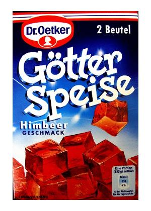 Dr Oetker Götterspeise Himbeer (2 sachets)