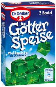 Dr Oetker Götterspeise Waldmeister  (2 Päckchen)