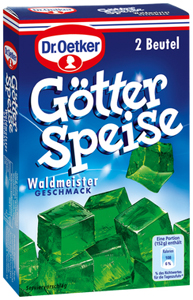 Dr. Oetker Götterspeise Waldmeister Kochen 2 Beutel à 11,7g