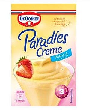 5- Dr.Oetker Paradies Creme Vanille 60g