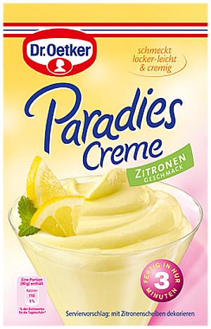 5- Dr.Oetker Paradies Creme Zitronen geschmack 72,5g