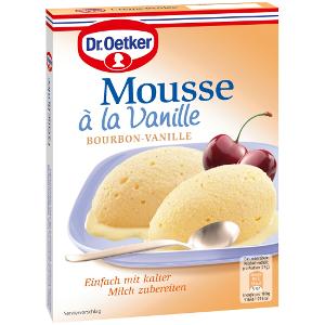 Dr. Oetker Mousse à la Vanille Bourbon Vanille 60g