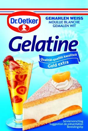 Dr.Oetker Gelatine Gemahlen Weiss  3 x 9g