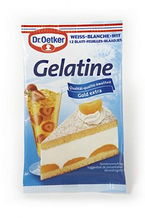 Dr Oetker Blatt-Gelatine weiss (10g)
