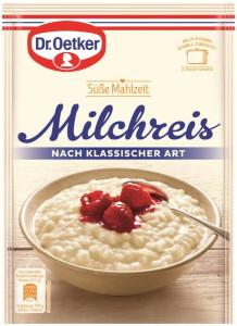 Dr Oetker Süße  Mahlzeit Milchreis