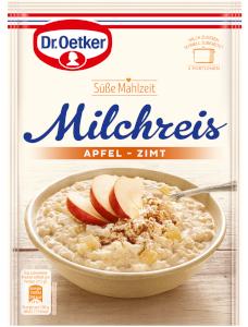 Dr.Oetker Süße Mahlzeit Milchreis Apfel-Zimt 125g