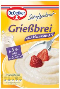 Dr.Oetker Süße  Mahlzeit Griessbrei Nach Klassischer Art 92g