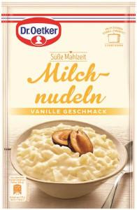 Dr.Oetker Süsse Mahlzeit Milch Nudeln mit Vanille Geschmack 116g