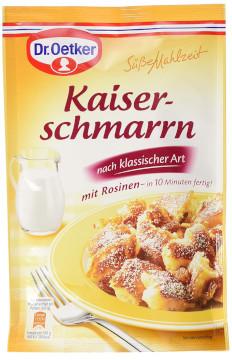 Dr.Oetker Süsse Mahlzeit Kaiser Schmarrn Mit Rosinen 165g