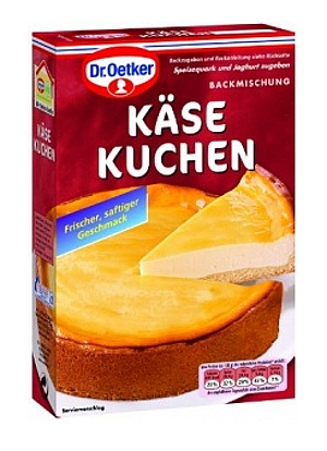 Dr Oetker Backmischung Käsekuchen