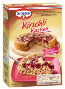 Dr Oetker Backmischung Kirschli Kuchen (435g)