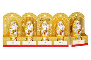 Lindt kleine Schokoladenweihnachtsmänner 50g