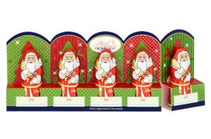2- Lindt Frohes Fest Weihnachtsmänner Vollmilch-Chocolade 50g für 5e