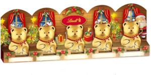 2- Lindt Teddy Alpenvollmilch Chocolade 50g für 5er x 10g