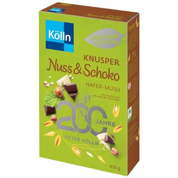 Kölln Müsli Knusper Nuss & Schoko Hafer-Müsli 450g