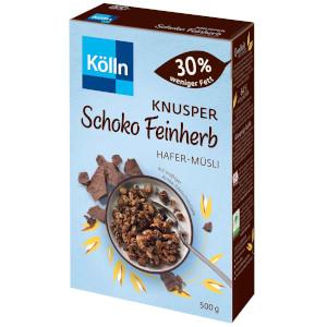 Kölln Hafer-Müsli Knusper Schoko Feinherb 500g