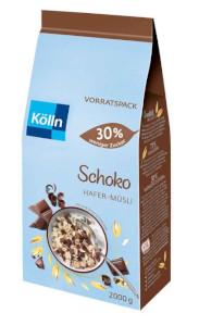 Kölln Hafer-Müsli Schoko 30% weniger Zucker 2000g