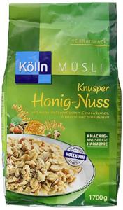 Kölln Müsli Knusper Honig-Nuss 1700g