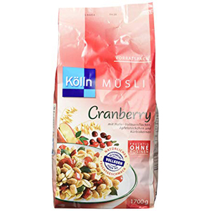 Kölln Müsli Cranberry Mit Hafer-Vollkornflocken 1700g