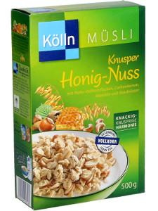 Kölln Müsli Knusper Honig-Nuss 500g