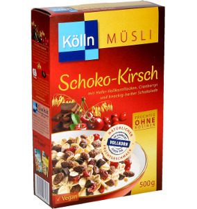 Kölln Müsli Schoko-Kirsch fruchtig, ohne Rosinen 500g