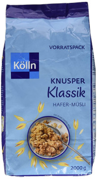 Kölln Müsli Knusper Klassik (Hafer-Müsli) 2000g